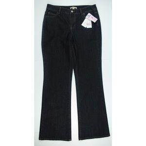 CAbi Gunmetal Dark Wash Style# 190 Bootcut Jeans
